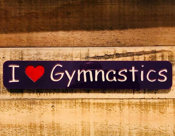 i love gymnastics cantileiver creations